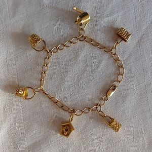 Longaberger Charm Bracelet
